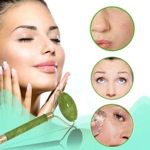 Jade face massage roller